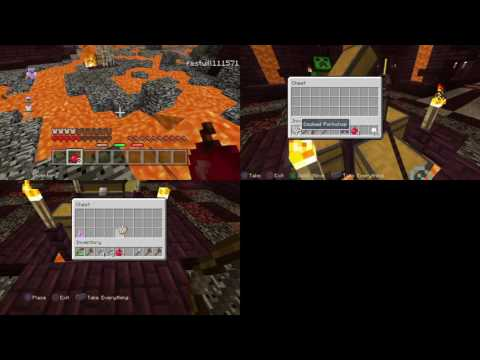 Minecraft hunger games with friends