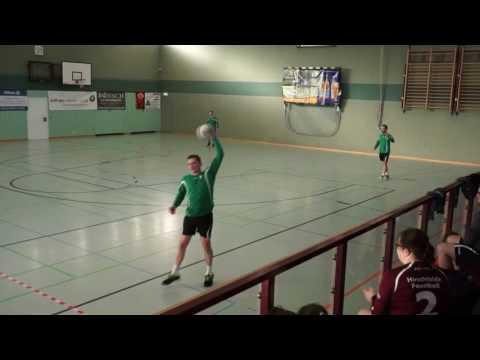 Final-Four-Turnier: SSV Heidenau 2. vs. FSV 07 Rittersgrün - Finale (Halle 2016-17)