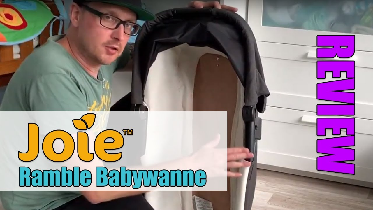 Buggy Joie Leicht Joie Ramble Babywanne Review