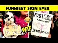 FUNNIEST SIGN EVER #4