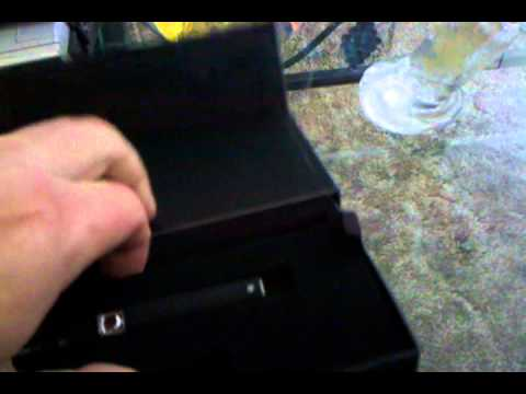 4/20/2012 G pen unboxing pen vape concentrate pen