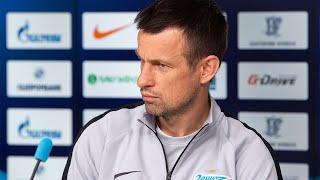 «Зенит» — ЦСКА: пресс-конференция Сергея Семака
