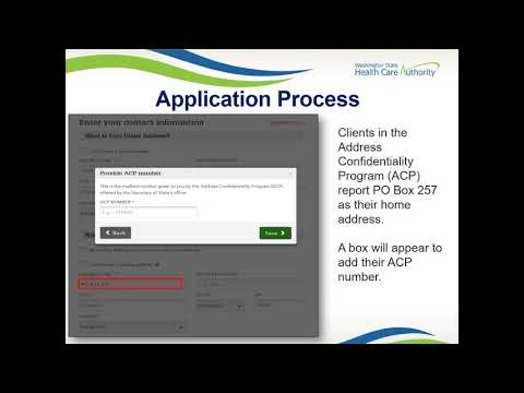 Module 6: Washington Healthplanfinder System Functionality