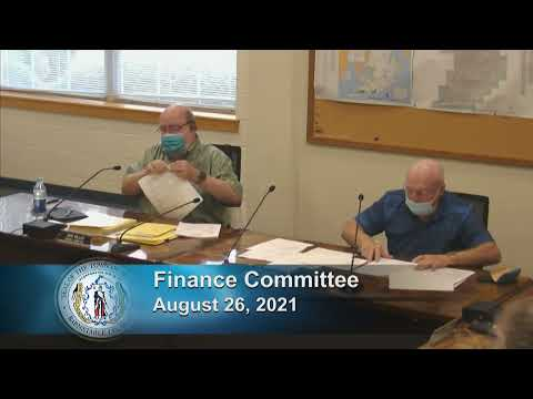 Finance Committee 8-26-21