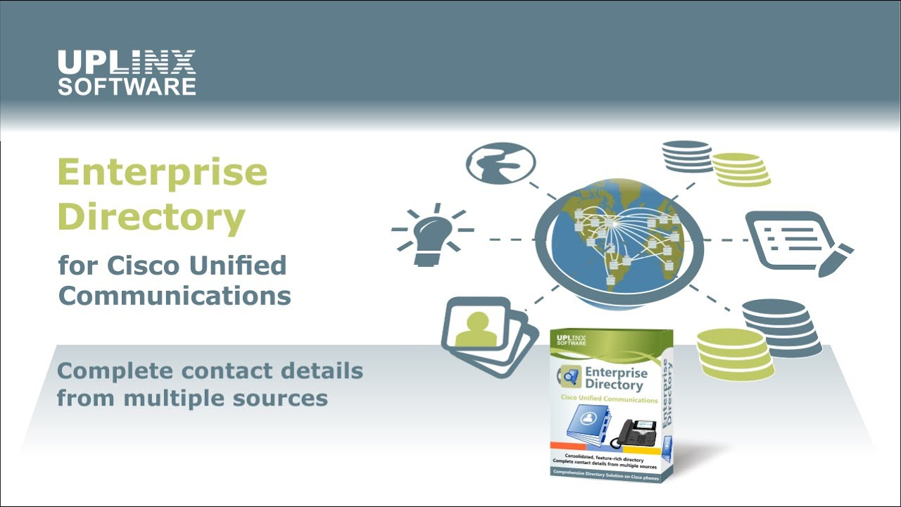 Enterprise Directory for Cisco Unified Communications – Uplinx Software