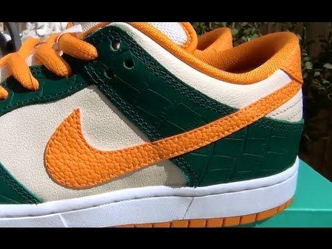 pick up 4281e ac743 Nike SB  Crocodile  (Legion Pine) Dunk Low Pro GR - Review + On Feet