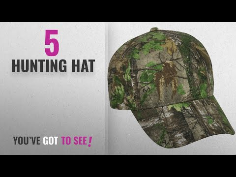 Top 10 Hunting Hat [2018]: Realtree Adjustable Closure Blank Cap, Realtree Xtra Green Camo