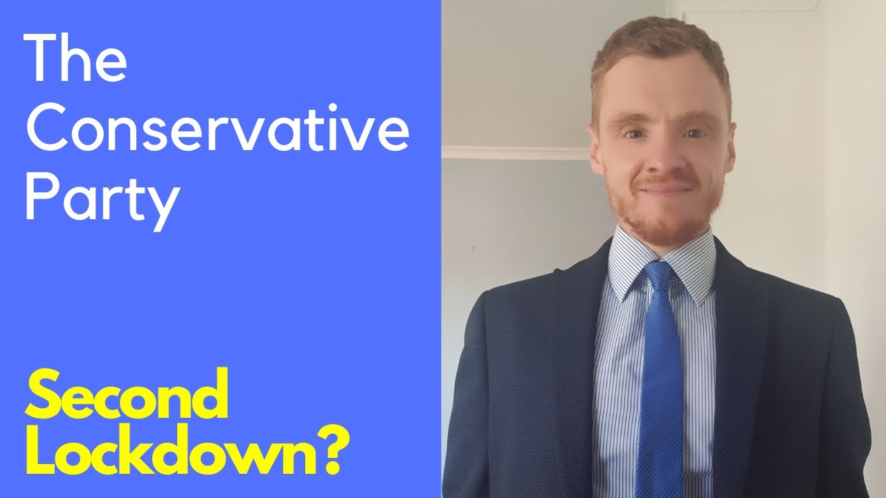 Second lockdown, an update from the Conservative Party.