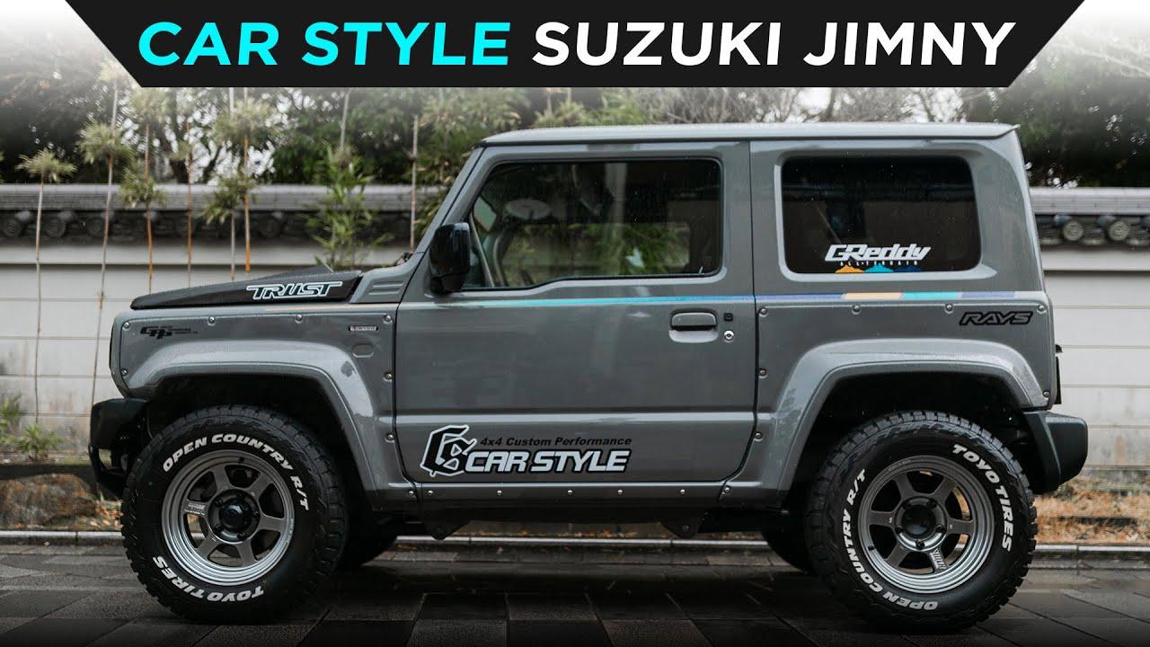 CAR STYLE | TURBO SUZUKI JIMNY | TOYO TIRES | [4K60]
