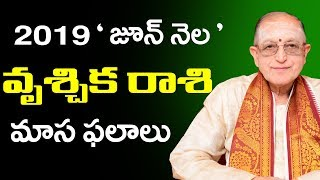 Vruchika Rasi Phalalu June 2019   Rasi Phalalu 2019    Vruchika Rasi 2019  Sunrise Tv Telugu