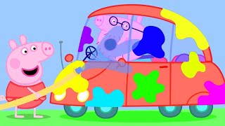 Peppa Pig Official Channel | Wash the Car with Peppa Pig