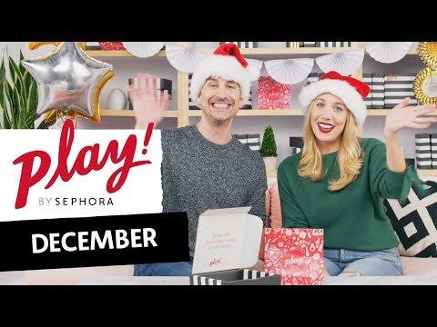 PLAY! by SEPHORA Boxing: December 2018 | Sephora