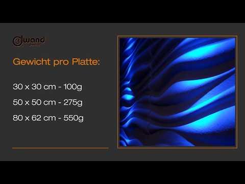 Installation der 3D Wandpaneele | Wandverkleidung | Wanddesign - NEU