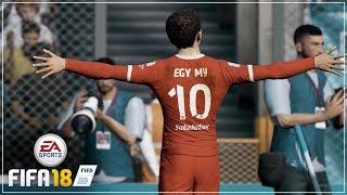 FIFA 18 Lechia Gdańsk Career Mode: Debut Egy Maulana Vikri Sebagai Pemain Nomor 10 Lechia Gdańsk