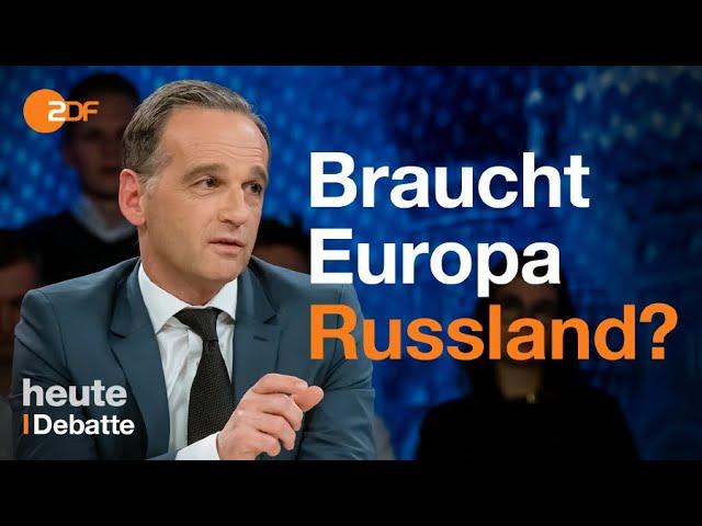 Tiergarten-Mord: Maas wirft Putin Lüge vor | maybrit illner