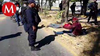 Balacera en Oaxaca deja tres heridos y siete detenidos