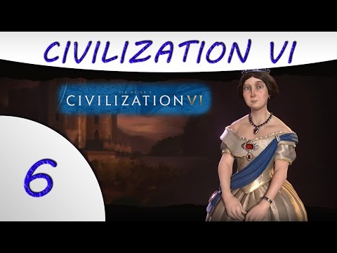 Civilization 6 Gameplay -Part 6- England - Victoria - Culture Victory