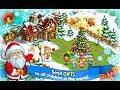 Farm Snow Happy Christmas Story With Toys & Santa | Fun game for kids