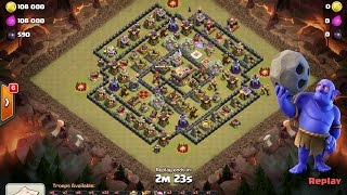 TH11 Ring Base 3 Star Bowlers Clash of Clans
