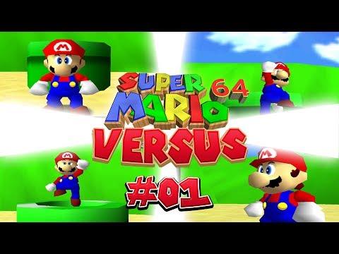 Super Mario 64 VS: Part 01 (4-Player)