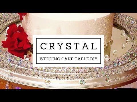 crystal-wedding-cake-table-diy
