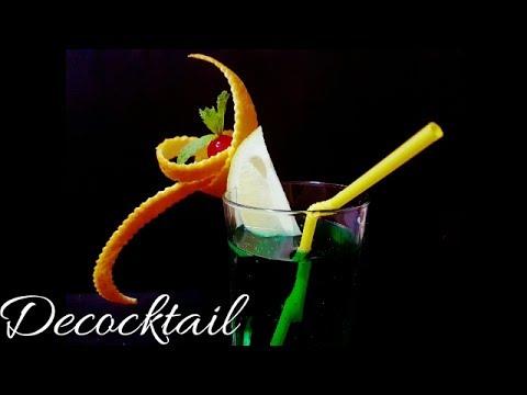 Decoracion para cocteles con naranja fantasia cocktail for Adornos para cocteles