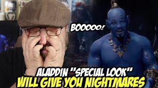 "Aladdin ""Special Look"" Will Give You NIGHTMARES!!!"