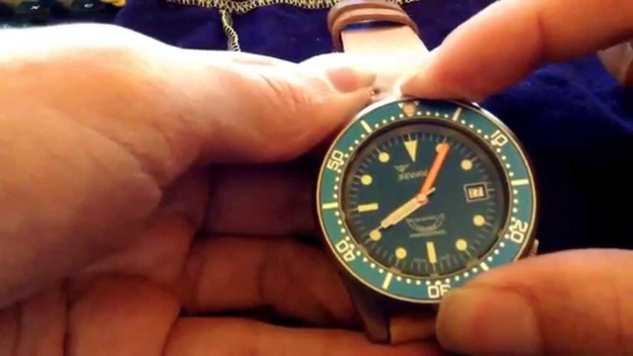 atmos bronze watches brown gnomon squale edition watch limited youtube