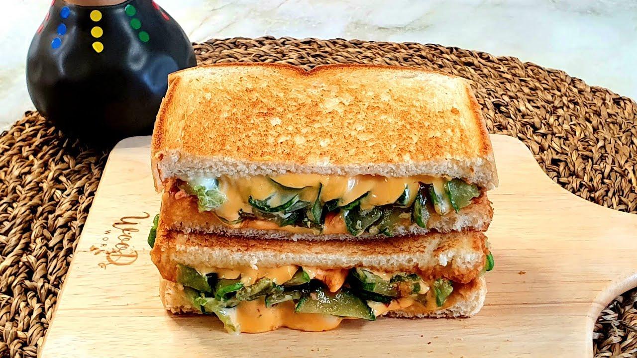 토스트 이렇게 드세요 ㅣ 상큼하게 순삭 계속 생각납니다  Cucumber sandwich recipe