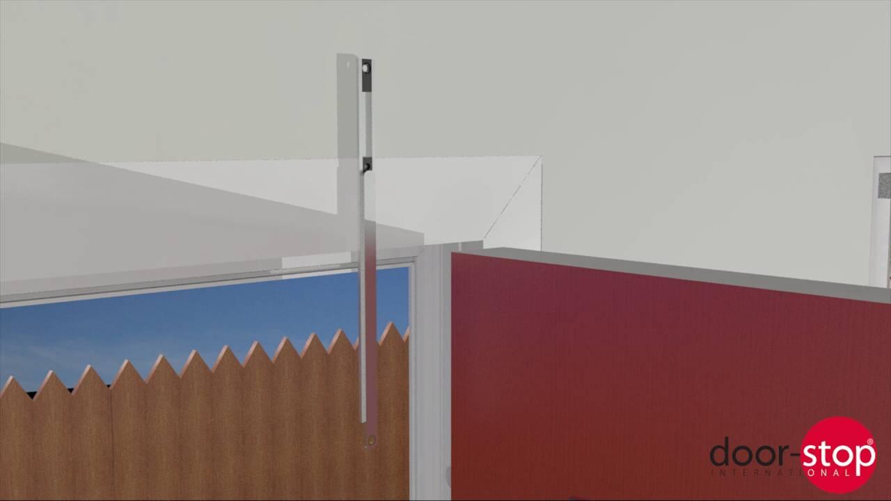 Trocal 76 entry door tiltturnwindows ca - Door Stop U0027how To U0027 Video How To Fit A Door Restrictor