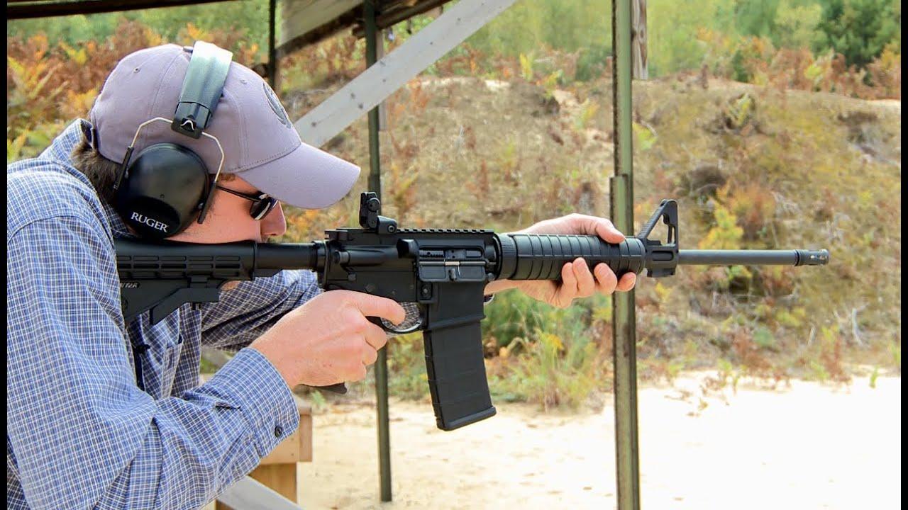 Ruger AR-556 Carbine OD Green  223/5 56