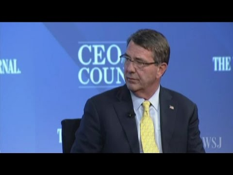 Secretary Carter speaks at WSJ CEO Council - 11/16/2015