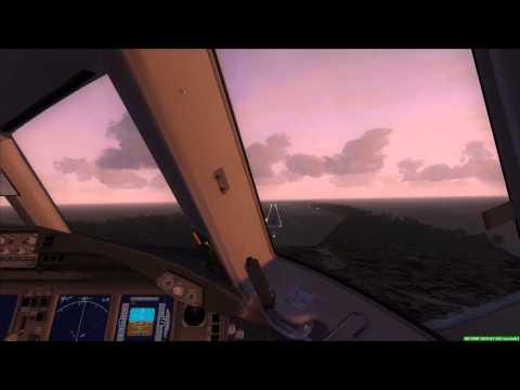 Boeing 777-200ER [MH370] landing at Diego Garcia