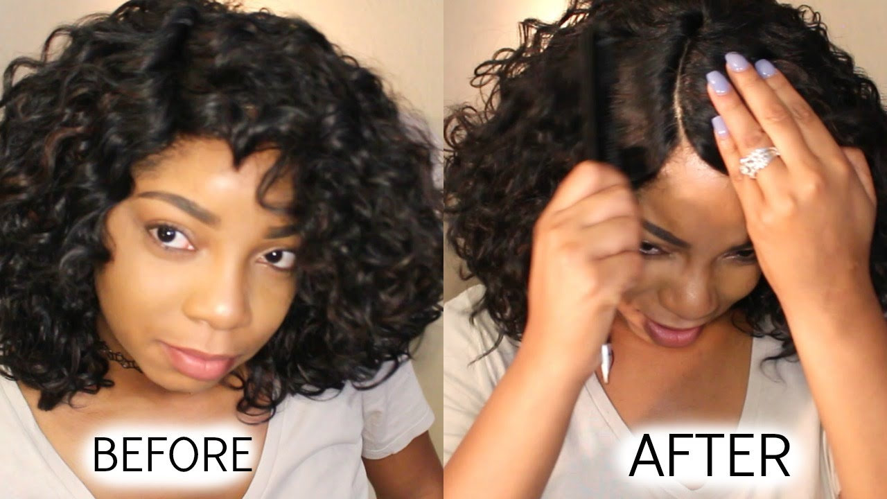 How To Make Synthetic Wig Look Real Youtube