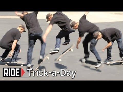 How-To Skateboarding: Backside Bigspins with Josiah Gatlyn