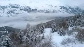 Лез Арк Бург сен Морис Парадиски Франция Les Arcs Paradiski(Горнолыжный отдых во Французских Альпах на курорте Лез Арк в январе 2014 года. Поездка в Бург сен Морис., 2014-12-21T12:57:37.000Z)
