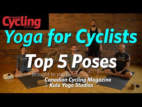 Yoga For Cyclists: Top 5 Poses