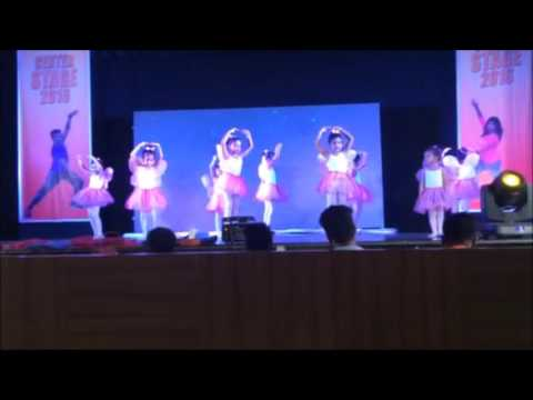 INDIAN ACADEMY OF RUSSIAN BALLET: Vashi centre toddlers show July 2016