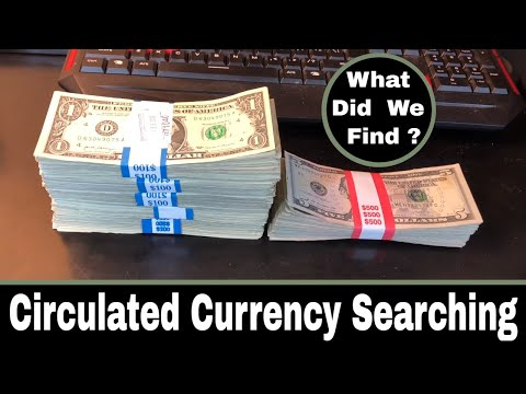 Repeat Currency Searching For Fancy Serial Numbers and Star Notes1