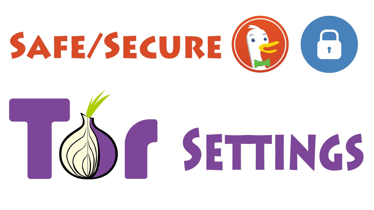 Tor Setup MOST Secure/Safe Settings: Approaching Anonymity - YouTube