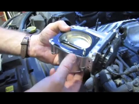 Throttle Body Housing Replacement On Range Rover Full Size 4.2