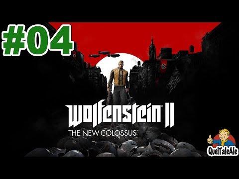 Wolfenstein II: The New Colossus - Gameplay ITA - Walkthrough #04 - Manhattan