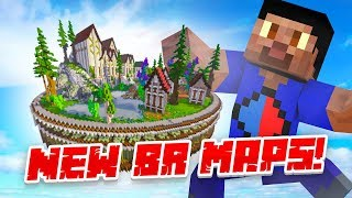 NEW BATTLE ROYALE MAPS! - Minecraft SKYBLOCK #11 (Season 3)