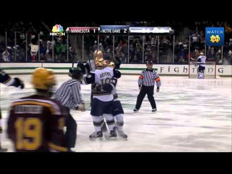 Irish 4, Golden Gophers 1 - Notre Dame Hockey