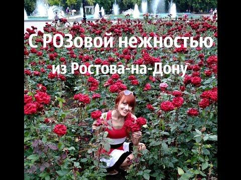 Аллея Роз - нежная сказка в Ростове-на-Дону