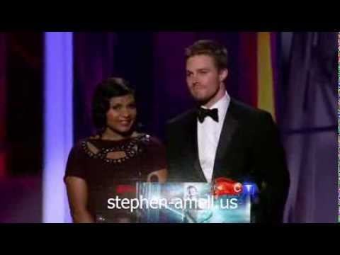 Stephen Amell at Emmy Awards