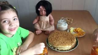 Отмечаем день рождения  куклы Розочки/ Учим готовить марокканский чай/ Пережидаем карантин