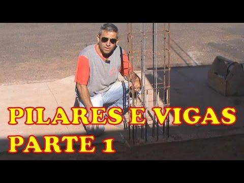 PILARES E VIGAS PARTE 1
