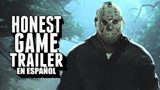friday the 13th honest game trailers en espaol