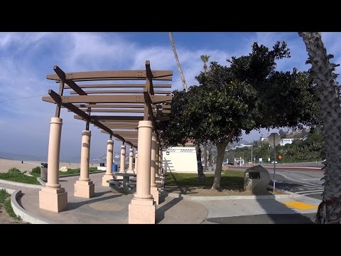 Venice Beach and Santa Monica Beach Hyperlapse -Sony HDR-AS 100v-16x